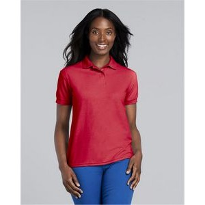 G448L -ROYAL -L-12PK Gildan Womens Performance 4.7 oz Jersey Polo